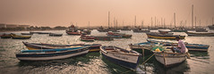 Light of Africa (stefanblombergphotography.com) Tags: boat caboverde capeverde dust fishermen fishing harbor light ocean outdoor panorama people sand sea ship sky stefanblombergphotography water wwwstefanblombergphotographycom