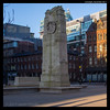 Cenotaph in Shadow (jason_hindle) Tags: manchester manchestertownhall winter cenotaph adobelightroomcc olympusep5 unitedkingdom olympus25mmf18 stpeter'ssquare