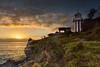 Lighthouse Sunrise (Robert Casboult) Tags: landscape landscapephotography longexposure landscapelovers seascape sunrise seaside lighthouse goldenhour sydney coastal harbour sydneyharbour headland historic t