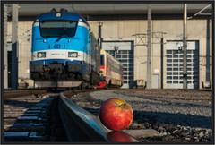 "Najbrt Apple ("" Wiener Schule "") Tags: čd cd 380 380013 skoda lok lokomotive loco locomotive eisenbahn railway railroad skoda109e 109e najbrt"