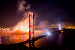 New Flickr Group American Photographer (Thomas Hawk) Tags: 75thbirthdaygoldengatebridge america batteryspencer california goldengatebridge marin marinheadlands sanfrancisco usa unitedstates unitedstatesofamerica bridge fireworks millvalley us fav10 fav25 fav50 fav100