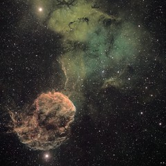 IC 443 Jellyfish Nebula SNR (Robotic, NM) (john.purvis) Tags: ic443 jellyfish dso astrophotography snr
