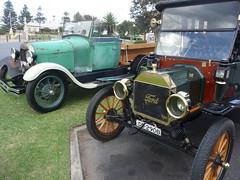 vintage cars (sarinozi) Tags: antique australia australian outdoors rally old relic 1914 ford crank spokes wheels