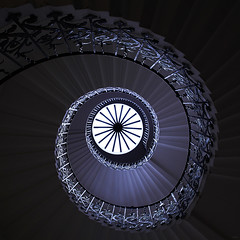What goes up... (Ursula Rodgers Photography) Tags: staircase spiral tulip queenshouse greenwich queens house london england uk architecture