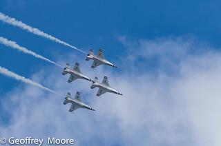 USAF Thunderbirds - Joint Base Andrews