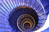 stairs (franck.robinet) Tags: stairs staircase step blue colimacon escaliers escargot spiral spirale art architecture artistic