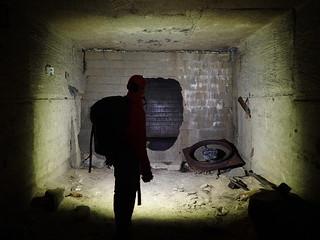 Base d'un puits d'aération, carrières de Savonnières en Perthois. 31.12.17