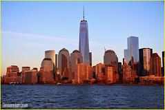MI HERMOSA CIUDAD. MY BEAUTIFUL CITY. NEW YORK CITY. (ALBERTO CERVANTES PHOTOGRAPHY) Tags: manhattan newyork lowermanhattan nyc wtc usa freedomtower torredelalibertad torre tower edificio building freedom libertad rio river agua water cielo sky nubes clouds horadorada goldenhour goldentime dorada golden hora time hour sunset dusk twilight atardecer crepusculo ocaso colorlight skyscraper landscapes skyline cityscapes retrato portrait photography photoborder reflejo reflection indoor outdoor blur luz light color colores colors brightcolors brillo bright city flickrunitedaward flickr united award ngc