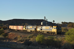 4PS6 winds down out of The Hill (highplains68) Tags: aus australia nsw newsouthwales brokenhill superfreighter west nrclass nr100 nr4