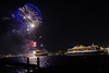 Cunard Fireworks 2018 (David Blandford photography) Tags: queen victoria elizabeth southamptonwater southamptondocks cunard cruise line liner hampshire fireworks