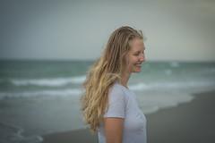 Her Smile... (JeffMoreau) Tags: portrait sony a7ii 90mm bokeh beach north myrtle south carolina beautiful