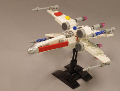 X-wing (Tino Poutiainen) Tags: lego legomoc ship space star wars rebel scum xwing new hope craft microscale midiscale