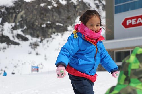 Nieve en Whistler