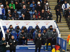Crystal Palace bench (lcfcian1) Tags: leicester city crystal palace lcfc cpfc king power stadium premier league epl bpl sport football england leicestercity crystalpalace leicestercityvcrystalpalace kingpowerstadium premierleague royhodgson jonmoss