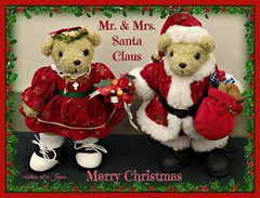 Merry Christmas & these bears' names are Mr. and Mrs. Santa Claus! (martian cat) Tags: ribbet macro teddybearsinjapan© motivational ©martiancatinjapan merrychristmas ©teddybearsinjapan allrightsreserved© teddybearsinjapan teddybearsinjapan☺ ☺teddybearsinjapan joyeux noël fröhlichi wiehnacht kurisumasu omedeto feliz navidad メリークリスマス buon natale motivationalposter ©allrightsreserved martiancatinjapan© teddybear teddybears inspirational ☺allrightsreserved allrightsreserved christmas christmasmemories ☺martiancatinjapan martiancat martiancat© ©martiancat martiancatinjapan