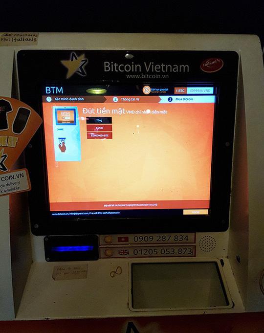 Nguy cơ mất trắng khi giao dịch tiền ảo Bitcoin qua ATM đặc thù! - Ảnh 3.