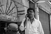 Business Man | India (gaalvarezc) Tags: photography street streetphotography stphotographia bw blackwhite blackandwhite black white india hyderabad unexpected people business call portrait