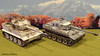 Winter Tiger Comparison (WesternOutlaw) Tags: tigertank wehrmacht 130scale 130 kingcountry kingandcountry toysoldiers snowtiger whitetiger stalingrad russianfront easternfront whittmanntiger michaelwhittmann