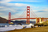 """What's the opposite of """"clothing optional""""? (Flipped Out) Tags: bakerbeach sanfranciscocalifornia goldengatebridge"""