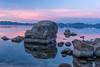 Boulders at Dawn (Jian Fan) Tags: sandharbor dawn rock boulder