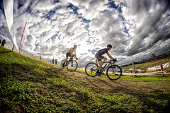 Fields of Joy (evilDink) Tags: rokinon8mm victoria bicycle fisheye australia colorefexpro4 mirrorless clouds cyclocross dfine20 melbgpcx melbourne race viveza niksoftware nex5 events 2017melbournegrandprixofcyclocross nikcollectionbygoogle edited cycling racing