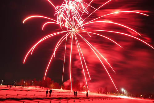 Vaasa New Year Fireworks
