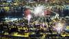 New Years Eve in the Arctic (Mark Ledingham Photography) Tags: newyearseve nyttårsaften fireworks 2017 tromsø tromso norway arctic ノルウェー 挪威 北极 fujifilmxt1 fujifilm