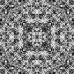 2057442793 (michaelpeditto) Tags: art symmetry carpet tile design geometry computer generated black white pattern