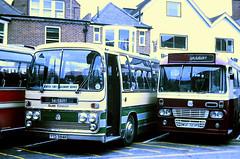 Slide 112-67 (Steve Guess) Tags: wiltshire england gb uk salisbury bus plaxton alexander mdf msf727p eastern scottish ytd384n bedford bell winterslow