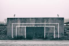 Stade Charles-Auray, Pantin, France (johann walter bantz) Tags: stade charlesauray sport architectural brume fog fujifilm xpro2 inspired creative