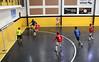 Tentativa de ataque (fotojornalismoespm) Tags: preto amarelo marcação futsal bola quadra
