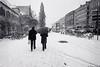Snow in Nuremberg (OscarCab) Tags: alemania nuremberg europa