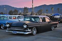 Mooneyes X-Mas Party 2017 (USautos98) Tags: 1957 ford fairlane lowrider hotrod streetrod kustom
