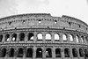 missing a few chunks (Robeevans) Tags: rome roma roman italy italia holiday travel travelling canon eos 500d rebel t1i blackandwhite black white monochrome amphitheatre flavian history ancient historic wonder world sightseeing tourist colosseum contrast monument stone city centre architecture building europe eu europa