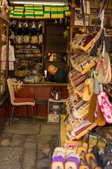 Concentrating or asleep...? (tokyobogue) Tags: tokyo japan shinagawa nikon nikond7100 d7100 35mmf18g tokyomeetupphotowalk shop shoes shitamachi craftsman