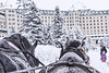 Fairmont Chateau Lake Louise (trident2963) Tags: banff lake louise canada canadian winter snow ice fairmont springs chateau fineart review flurry horse drawn sleigh christmas horses hotel travel recommendations firepit icecastle icebar maple syrup light sculpture blizzard