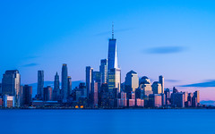 Lower Manhattan (Amar Raavi) Tags: downtown manhattan lowermanhattan longexposure sunset dusk financialdistrict worldtradecenter wtc newyork nyc outdoors cityscape urban skyscrapers buildings usa a7riii sony architecture city