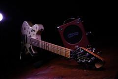my wolfgang and pignose (astrogeekwannabe) Tags: profoto strobist evh wolfgang pignose gellin guitar studio