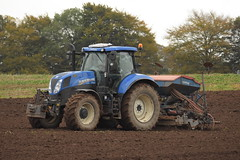 New Holland T7.200 Tractor with a Rabe Power Harrow & Turbodrill XL Combispeed 300A Seed Drill (Shane Casey CK25) Tags: new holland t7200 tractor with rabe power harrow turbodrill xl combispeed 300a seed drill nh cnh blue newholland sow sowing set setting drilling tillage till tilling plant planting crop crops cereal cereals county cork ireland irish farm farmer farming agri agriculture contractor field ground soil dirt earth dust work working horse horsepower hp pull pulling machine machinery grow growing nikon d7200 shanballymore