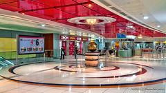 Dubai, United Arab Emirates: Salah Al Din metro station (Green L (nabobswims) Tags: ae dubai hdr highdynamicrange ilce6000 lightroom metro nabob nabobswims photomatix rta rapidtransit sel18105g salahaldin sonya6000 station subway ubahn uae unitedarabemirates
