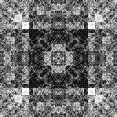 1840558813 (michaelpeditto) Tags: art symmetry carpet tile design geometry computer generated black white pattern