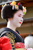 Beautiful (byzanceblue) Tags: kyoto japan japanese maiko geiko geisha gion miyagawacho kimono red black formal woman girl female beautiful cute pretty elegant d850 nikkor