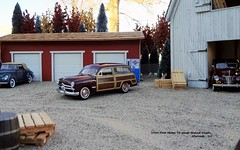 1949 Ford Model 79 Wood-Bodied Wagon (JCarnutz) Tags: 124scale diecast franklinmint 1949 ford woodbodied