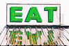 Eat (Thomas Hawk) Tags: america arco eat idaho picklesplace techondeck techondeck2015 usa unitedstates unitedstatesofamerica neon restaurant fav10 fav25