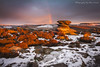 Over Owler Tor Snowbow (marc_leach) Tags: overowlertor heathersage rocks rockformation moorland carlwark surpriseview sunrise snow snowbow landscape winter clouds