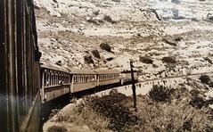 Israel Railways - ISR diesel locomotive (General Motors/SAFB 1952) and a passenger train on the way to Jerusalem (HISTORICAL RAILWAY IMAGES) Tags: train railway israel isr jerusalem רכבת ישראל ירושלים safb diesel locomotive