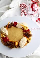 Cremoso al mascarpone e cannella, salsa al panettone (FeelCook) Tags: panettone cannella mascarpone natele feste dolce dessert cremoso ribes