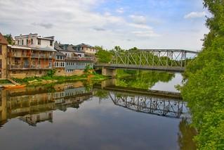 Elora Ontario ~ Canada  ~ Reflection - Historic Town