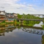 Elora Ontario ~ Canada  ~ Reflection - Historic Town thumbnail