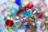 Crystal Beads (JMS2) Tags: crystal bokeh beads jewelry bracelet lights reflections macromondays member'schoicebokeh